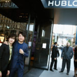 Performing with Lang Lang at 5th Avenue's Hublot Store Private Event