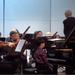 Playing Beethoven With Orchestra From Concert Festival