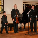 Playing Rontgen Trio With the Jupiter Symphony Chamber Players