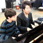 Playing 4-Hands with Lang Lang on WQXR