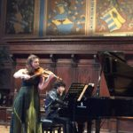 Performing with Alissa Margulis at Music Fest Perugia in Italy