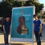 Performing at the 27th Festival International de Musique, in Dinard, France