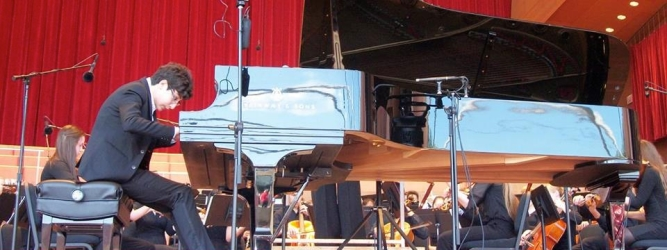Performing at Ravinia Festival
